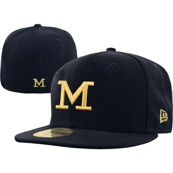 Michigan Wolverines New Era 59FIFTY Basic Fitted Hat
