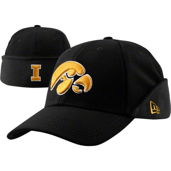 Iowa Hawkeyes New Era Downflap Flex Hat