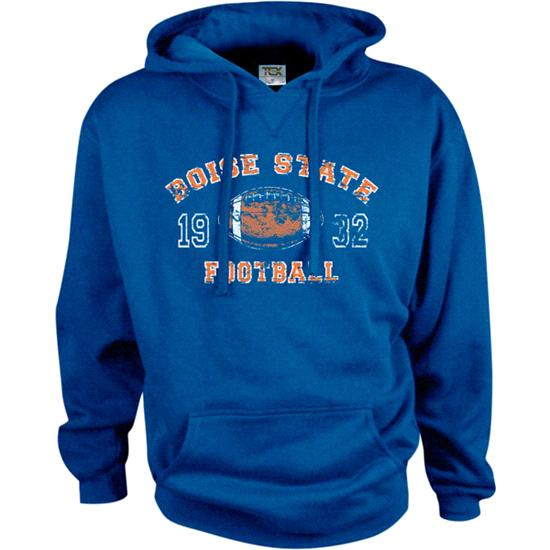 Boise State Broncos Legacy Football Hooded Sweatshirt