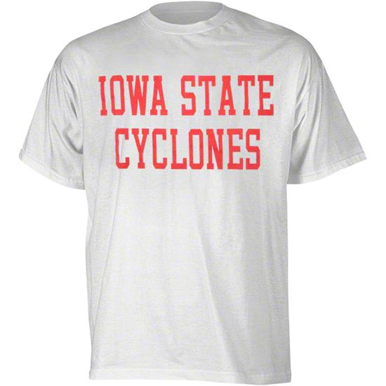Iowa State Cyclones White Promo T-Shirt