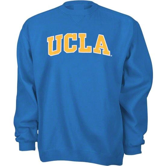 UCLA Bruins Blue Tackle Twill Crewneck Sweatshirt
