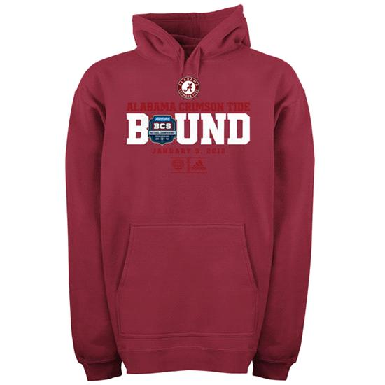 Alabama Crimson Tide National Championship Game Bound Hooded Sweatshirt
