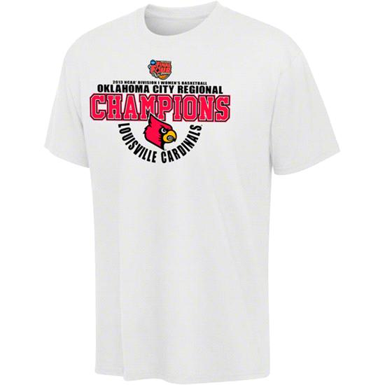 Louisville Cardinals 2013 Women's Basketball Regional Champions Locker Room T-Shirt