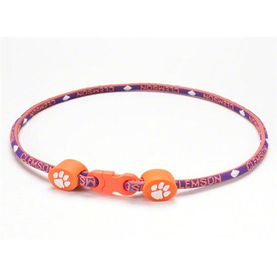 Clemson Tigers Titanium Necklace