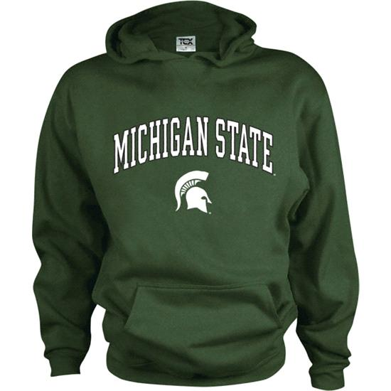 Michigan State Spartans Kids/Youth Perennial Hooded Sweatshirt