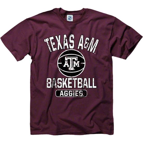 Texas A&M Aggies Maroon Youth Ballin' T-Shirt