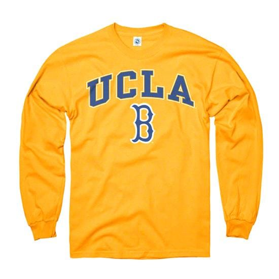 UCLA Bruins Gold Perennial II Long Sleeve T-Shirt