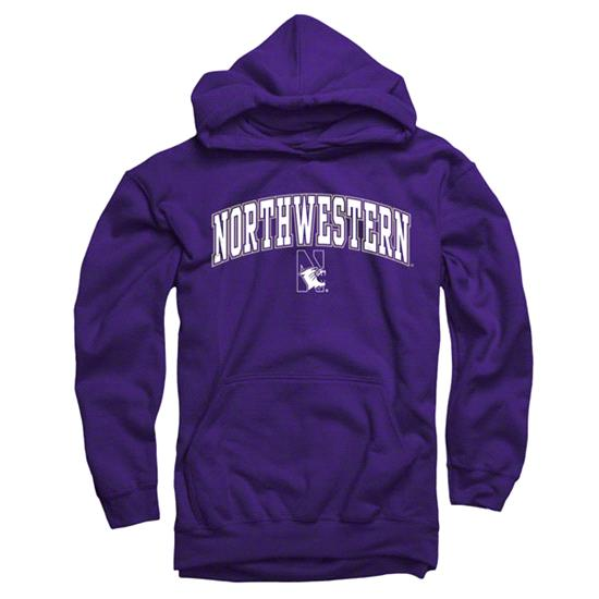 Northwestern Wildcats Youth Purple Perennial II Hooded Sweatshirt