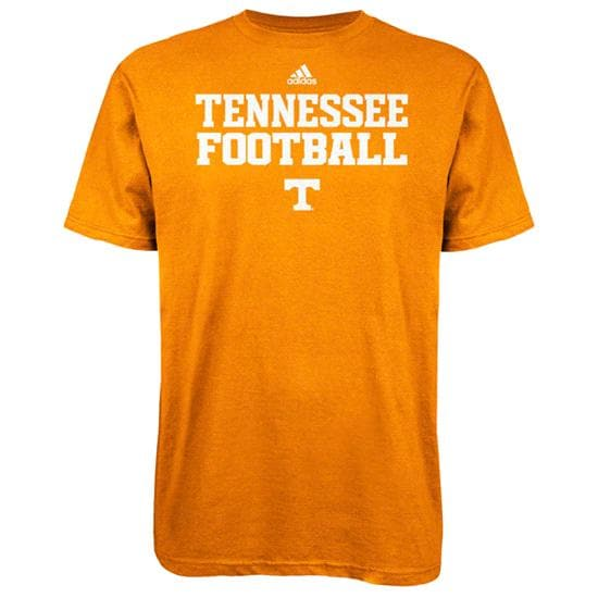 Tennessee Volunteers Light Orange adidas 2012 Football Practice T-Shirt