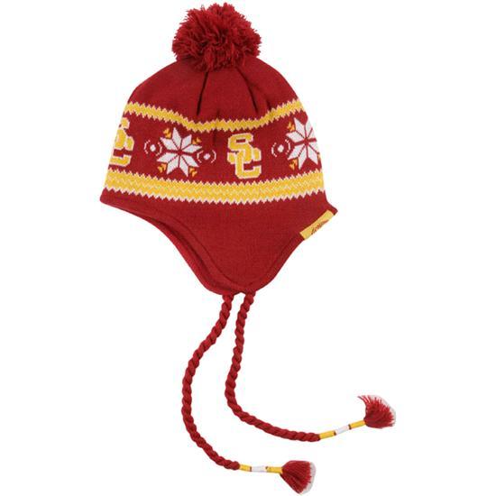 USC Trojans Cardinal Ridgely Knit Hat