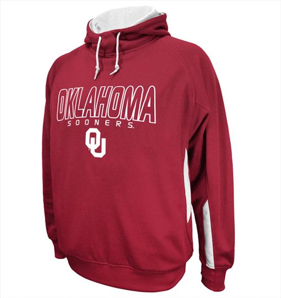 Oklahoma Sooners Cardinal BMOC Performance Hooded Sweatshirt