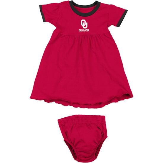 Oklahoma Sooners Cardinal Infant Lola Dress