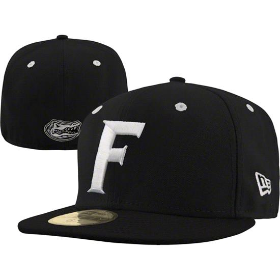 Florida Gators New Era Black 59FIFTY Fitted Hat