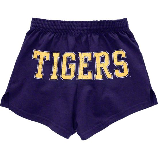 LSU Tigers Women's Purple Authentic Soffe Shorts