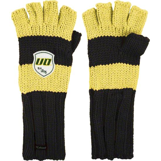 Oregon Ducks Columbia Spirit Fingers Gloves