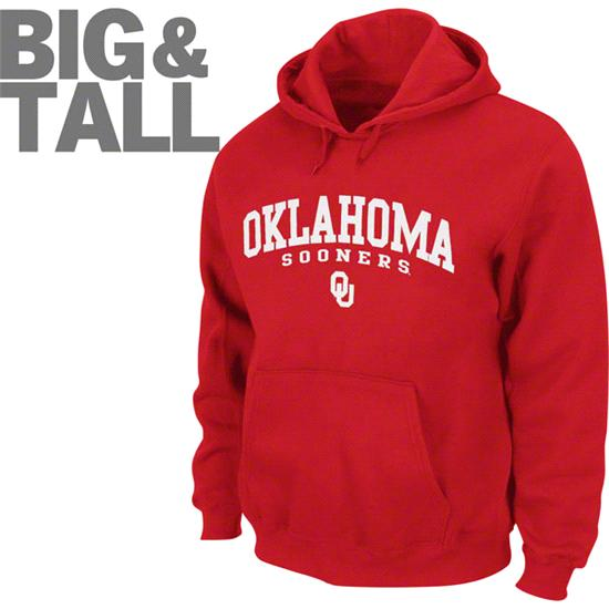 Oklahoma Sooners Big & Tall Legacy Hooded Sweatshirt