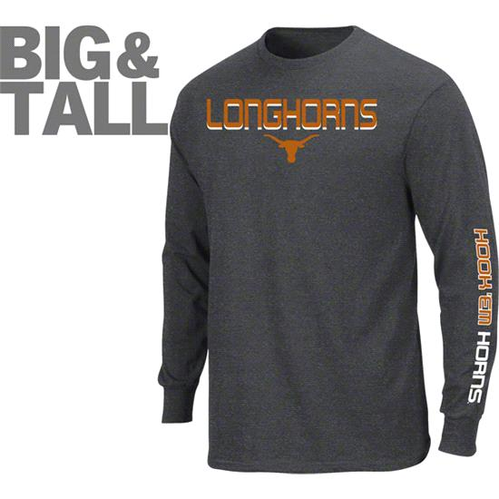Texas Longhorns Big & Tall Class Long Sleeve T-Shirt