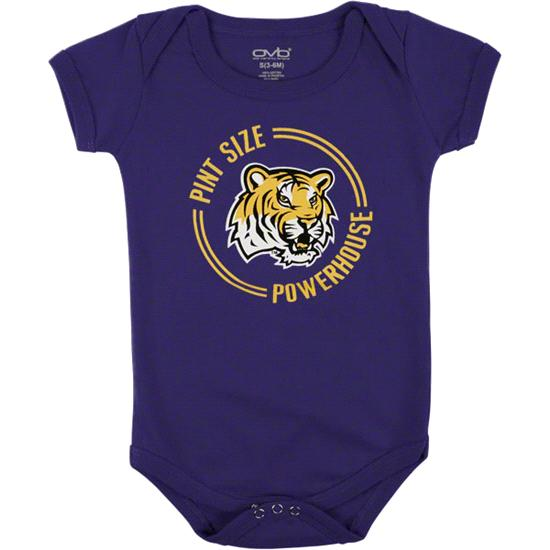 LSU Tigers Infant Purple Powerhouse Pint Creeper