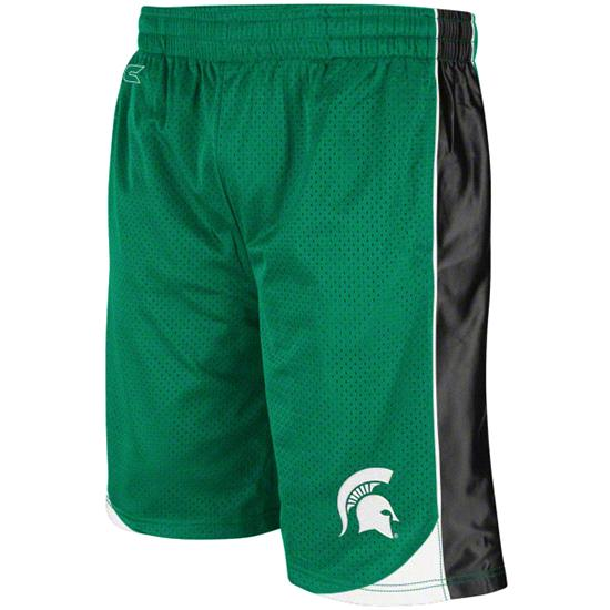 Michigan State Spartans Green Vector Shorts