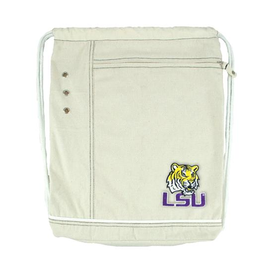 LSU Tigers Natural Old School Cinch