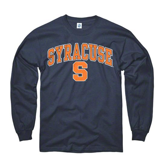Syracuse Orange Youth Navy Perennial II Long Sleeve T-Shirt