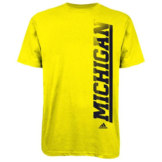Michigan Wolverines adidas Gold Toddler Team Issue T-Shirt