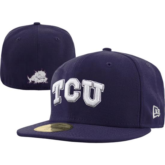 TCU Horned Frogs New Era 59FIFTY Basic Fitted Hat