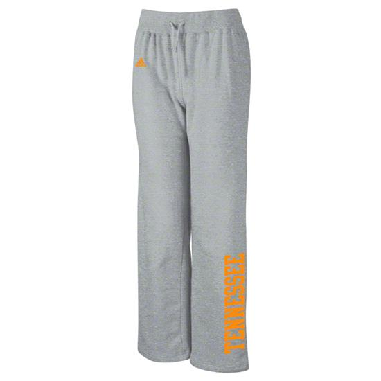 Tennessee Volunteers adidas Women's Grey Word Plus Stretch Fleece Pants