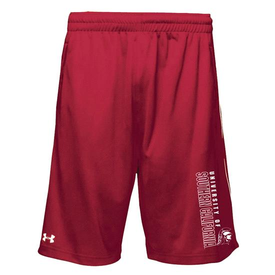 USC Trojans Crimson Under Armour Performance Twister Shorts