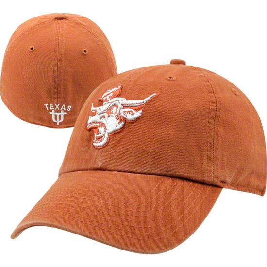 Texas Longhorns Burnt Orange Vault Bevo Franchise Fitted Hat