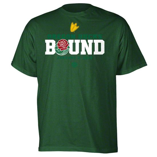 Oregon Ducks 2012 Rose Bowl Bound T-Shirt