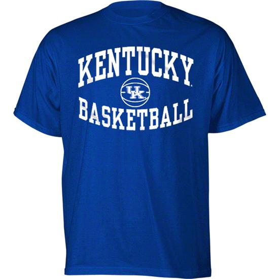 Kentucky Wildcats Royal Reversal Basketball T-Shirt