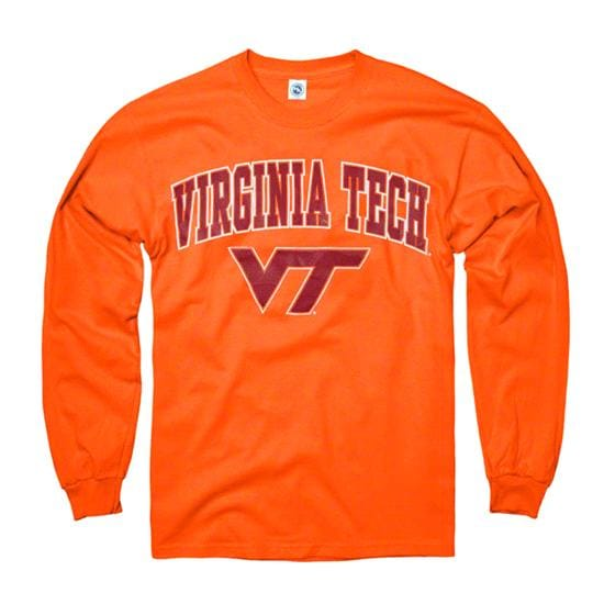 Virginia Tech Hokies Orange Perennial II Long Sleeve T-Shirt
