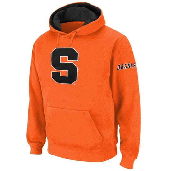 Syracuse Orange Orange Twill Pep Rally Hooded Sweatshirt