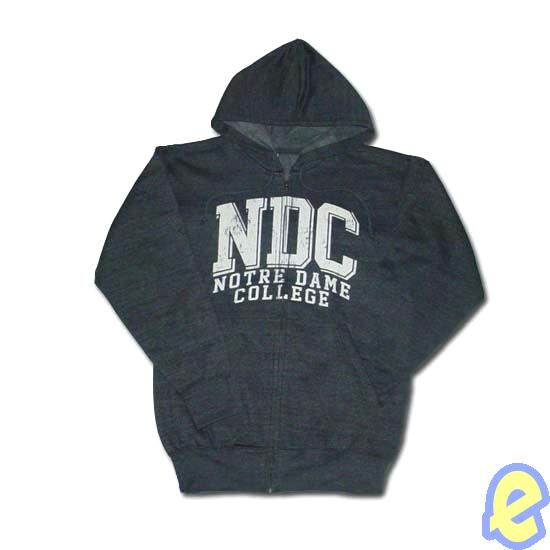 Notre Dame College Full-Zip Hoody