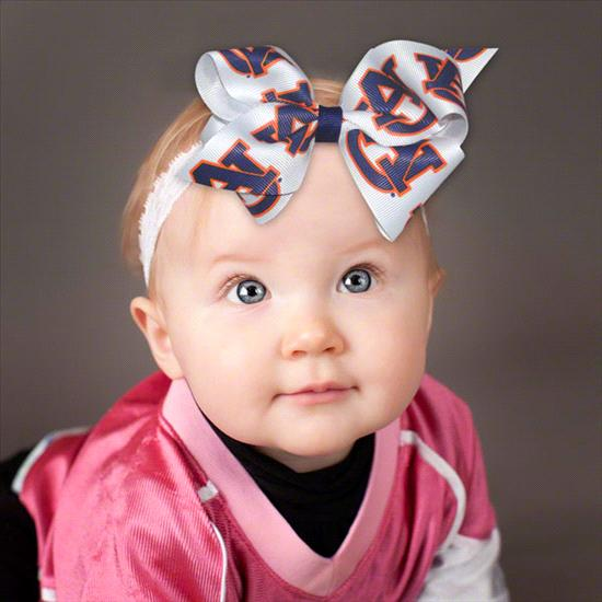 Auburn Tigers Baby Headband