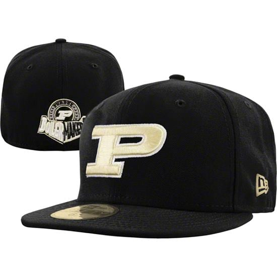 Purdue Boilermakers New Era 59FIFTY Basic Fitted Hat