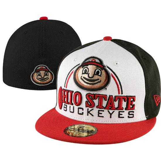 Ohio State Buckeyes New Era 59FIFTY Deluxe City Fitted Hat