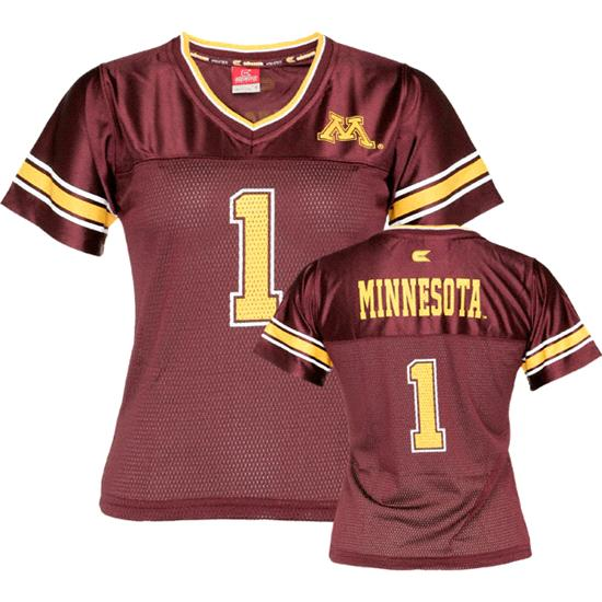 Minnesota Golden Gophers Women's Stadium Football Jersey