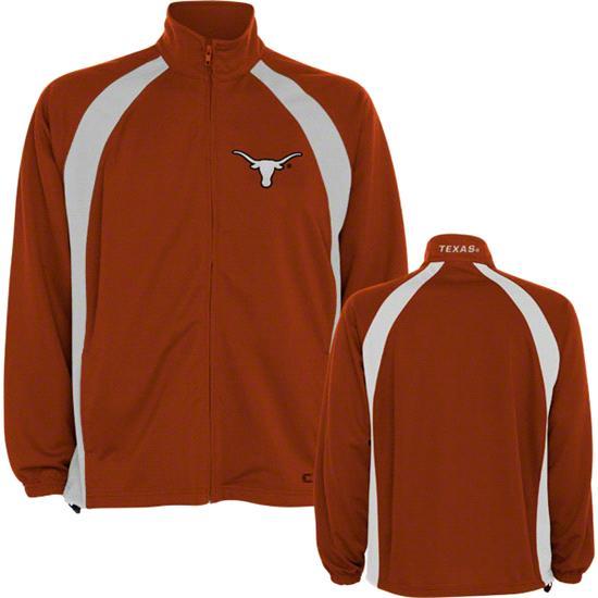 Texas Longhorns Orange Rival Full Zip Jacket