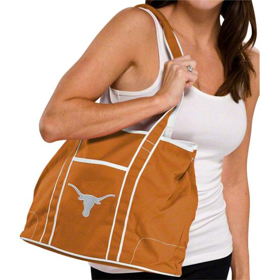 Texas Longhorns Burnt Orange Hampton Canvas Tote