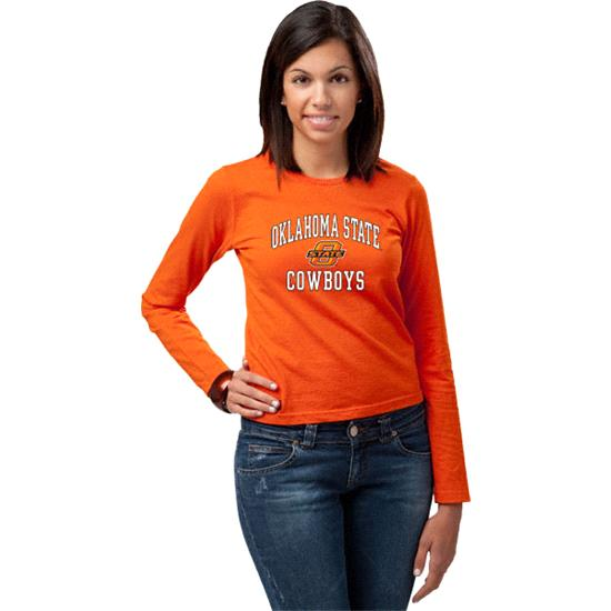 Oklahoma State Cowboys Women's Perennial Long Sleeve T-Shirt