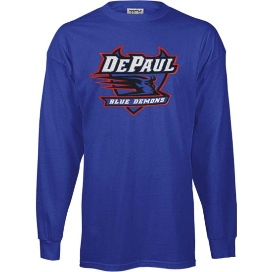DePaul Blue Demons Kids/Youth Perennial Long Sleeve T-Shirt