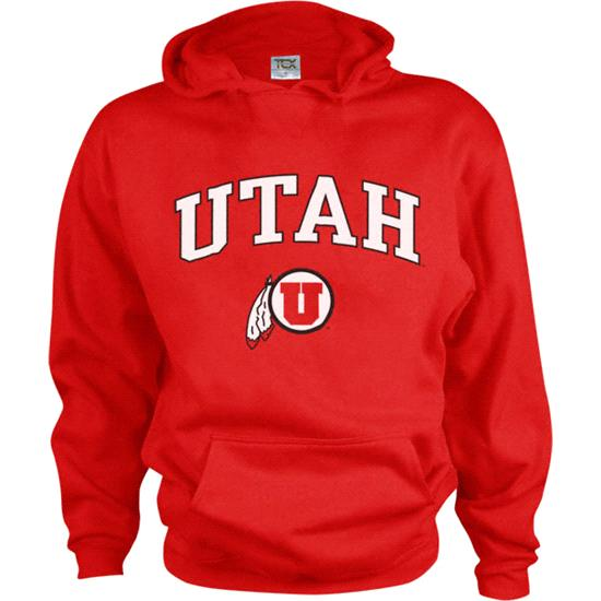 Utah Utes Kids/Youth Perennial Hooded Sweatshirt