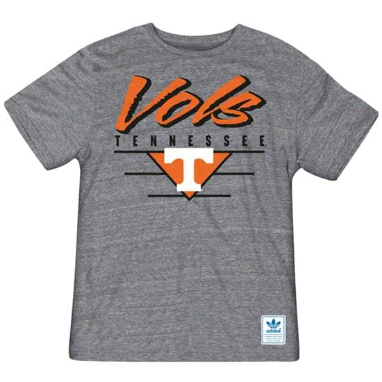 Tennessee Volunteers Heather Grey adidas Originals Blazing Tri-Blend T-Shirt