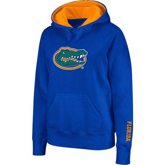 Florida Gators Women's Royal Twill Victory Lap Hooded Sweatshirt