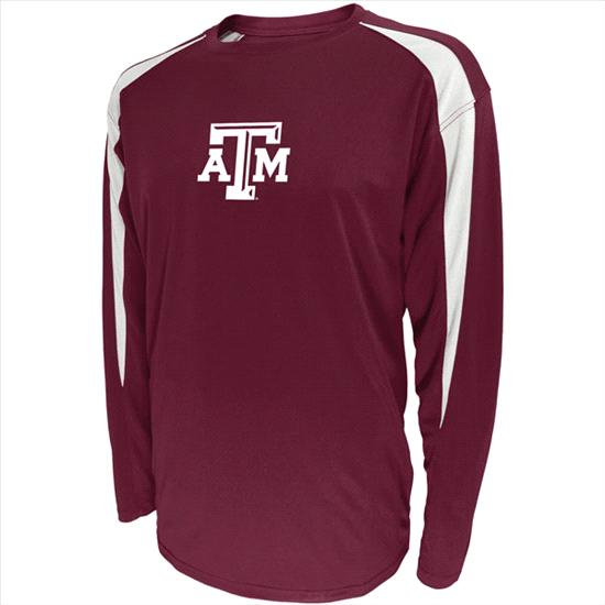 Texas A&M Aggies Quick Count Performance Long Sleeve T-Shirt