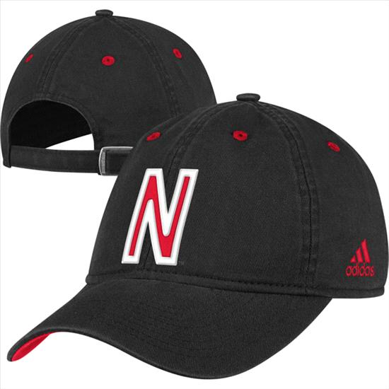 Nebraska Cornhuskers adidas Unrivaled Coaches Slouch Adjustable Hat