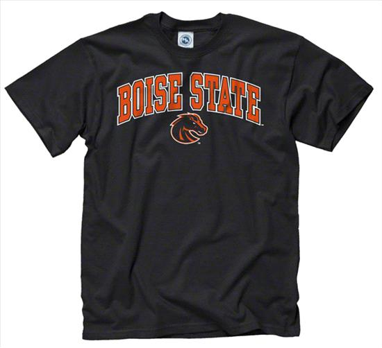 Boise State Broncos Youth Black Perennial II T-Shirt