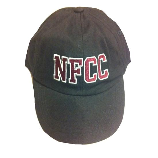 Black and Maroon Official NFCC Collegiate Cap